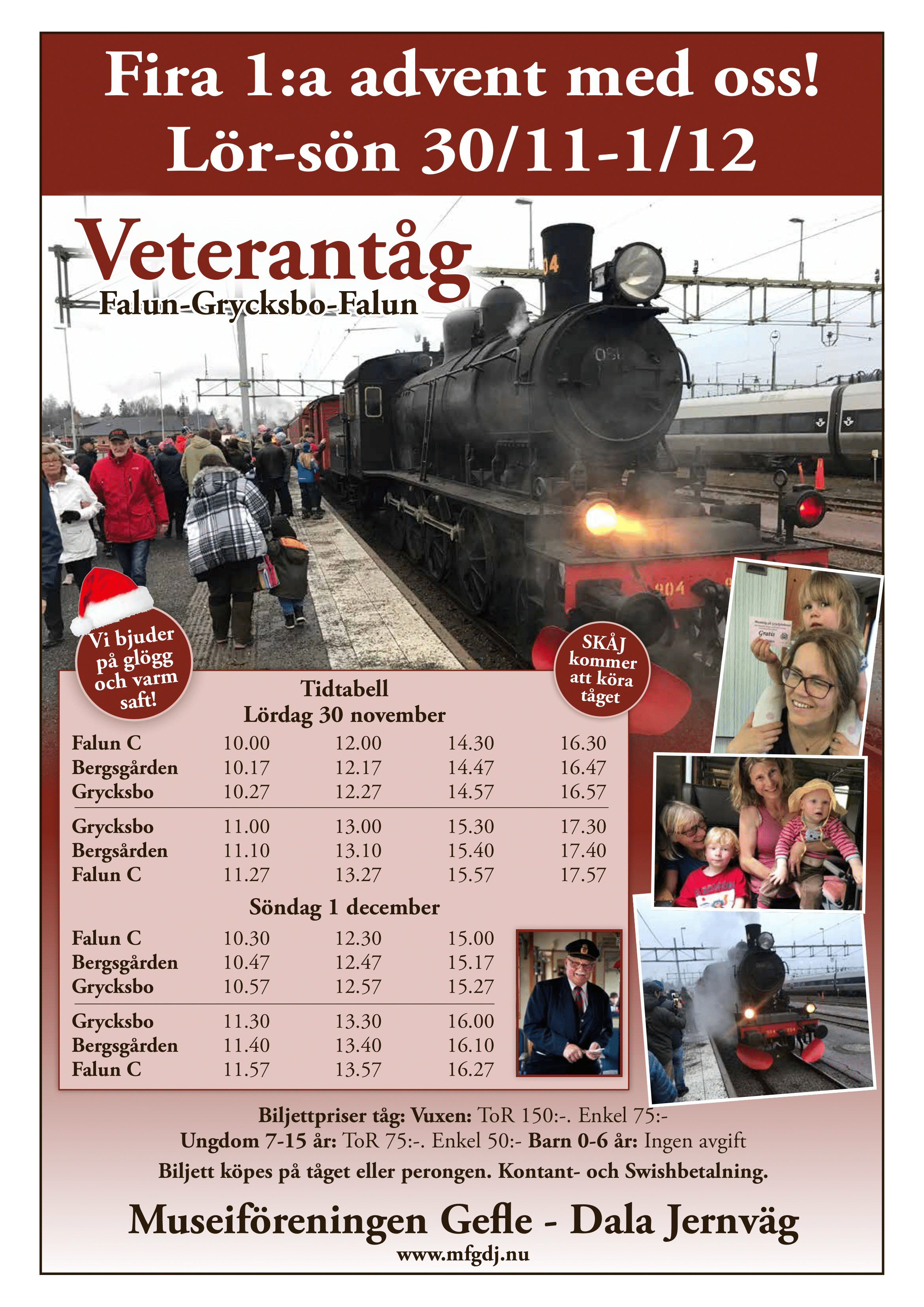 Veterantåg 19-20 oktober
